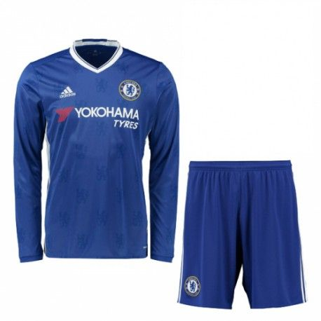 Chelsea Kids Home Kit Long Sleeve 2016 2017 - Discount Football Shirts,  Cheap Soccer Jerseys