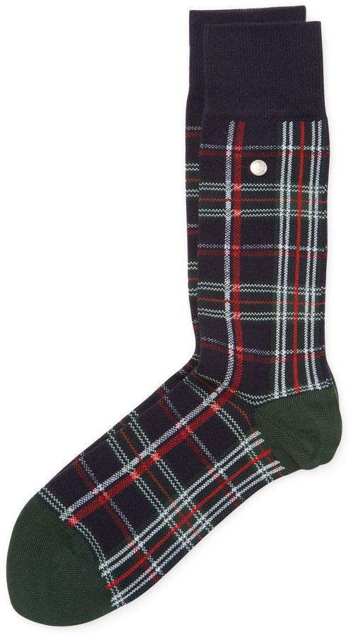 Fred Perry Men's House Tartan Socks - Dark Blue/Navy, Size 9.0-11.0 on men's plush house slippers, men's scuff slippers, men's house coats, men's house robes, men's crochet slippers, 100% wool ragg socks, men's moccasins size 11 5, men's moccasin house slippers, men's house dress, men's leather house slippers, men's polo house slippers, men's shoe slippers,