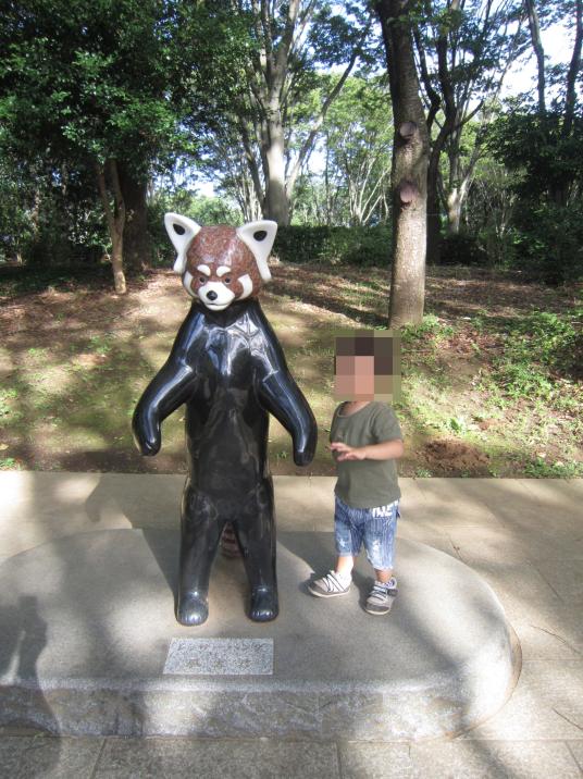 二本立ちで有名なレッサーパンダ風太くんがいる千葉市動物公園家族体験レポ レッサーパンダ 動物園 動物公園