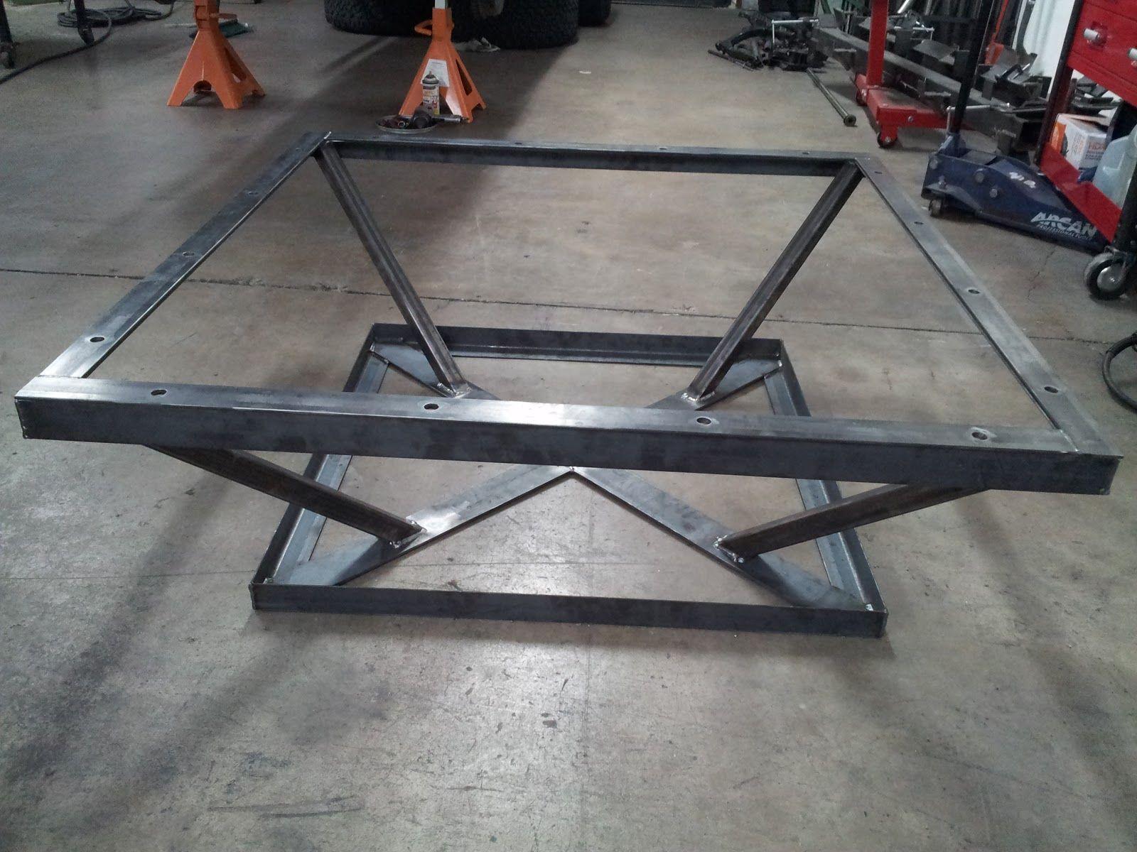 - Marisa Jara Coffee Table Frame, Welded Furniture, Iron Coffee Table