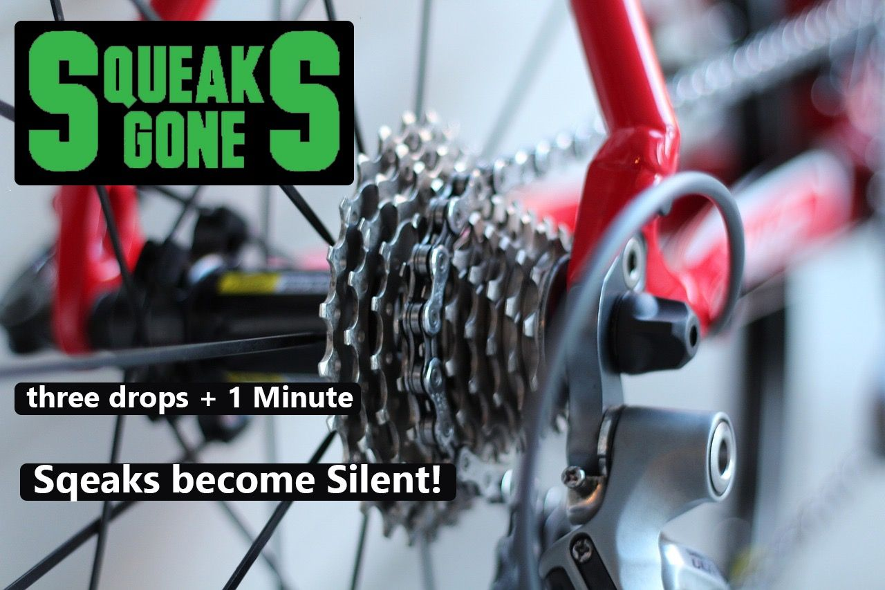 Tired Of Your Bike Squeaking Easy Fix With Squeaks Gone Fast