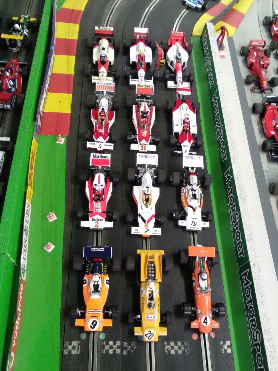 McLaren F1 cars.