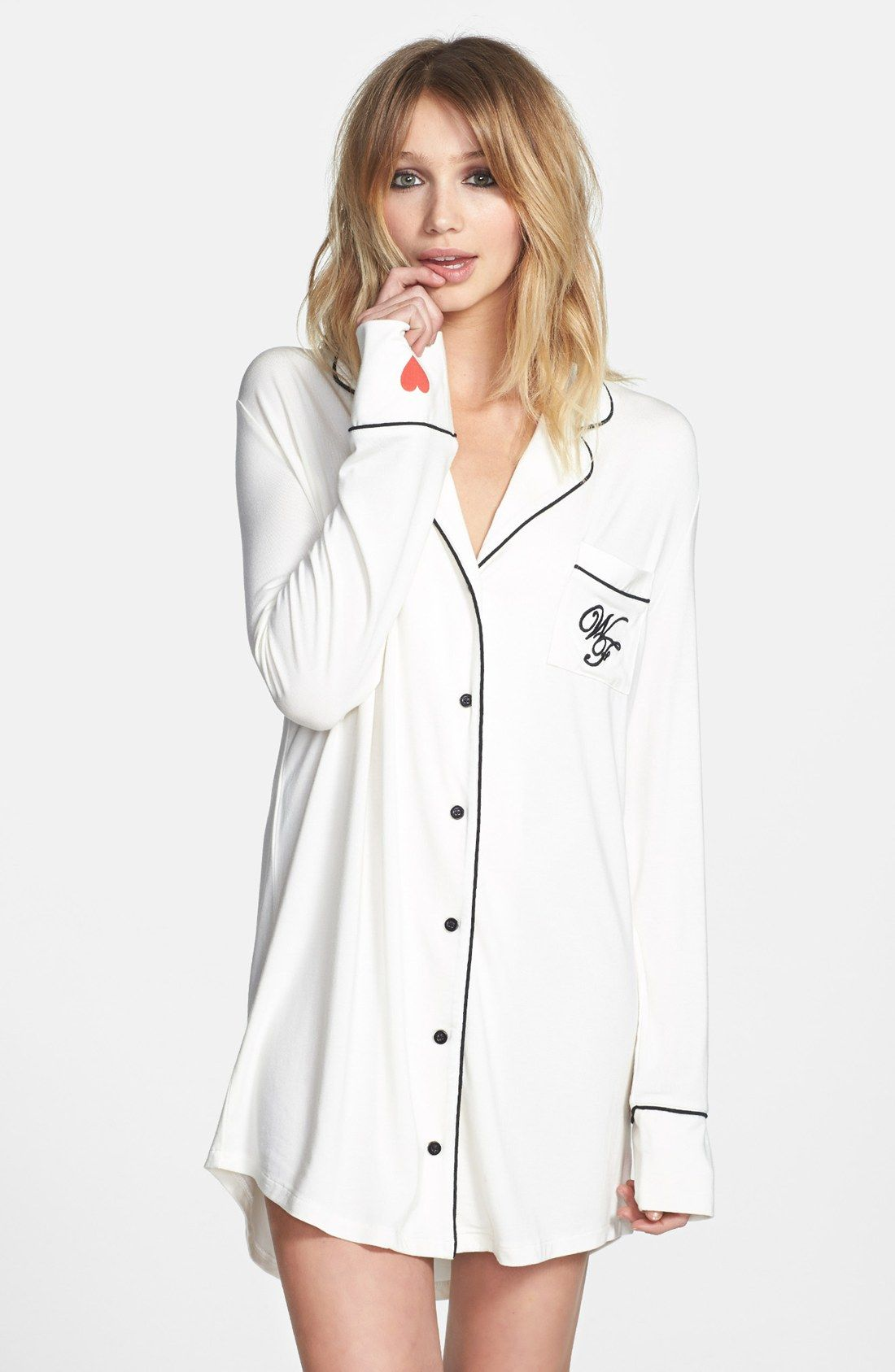 a77fe25fee Free shipping and returns on Wildfox  Sweet Dreams  Sleep Shirt at  Nordstrom.com