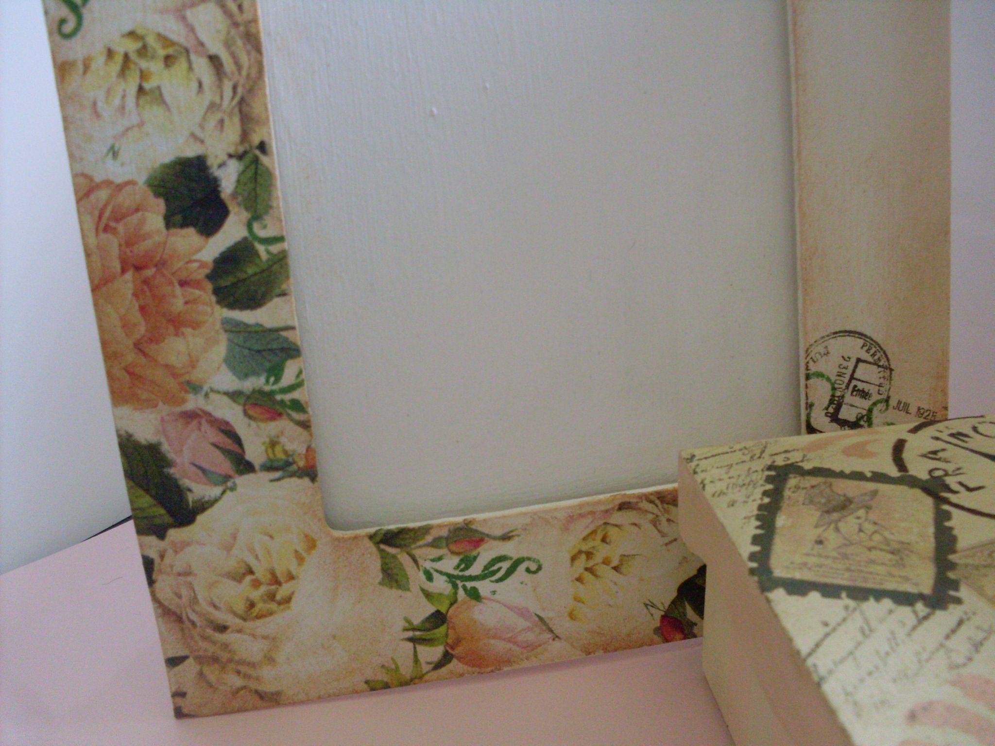 como hacer portaretratos de madera decorados buscar con google. Black Bedroom Furniture Sets. Home Design Ideas