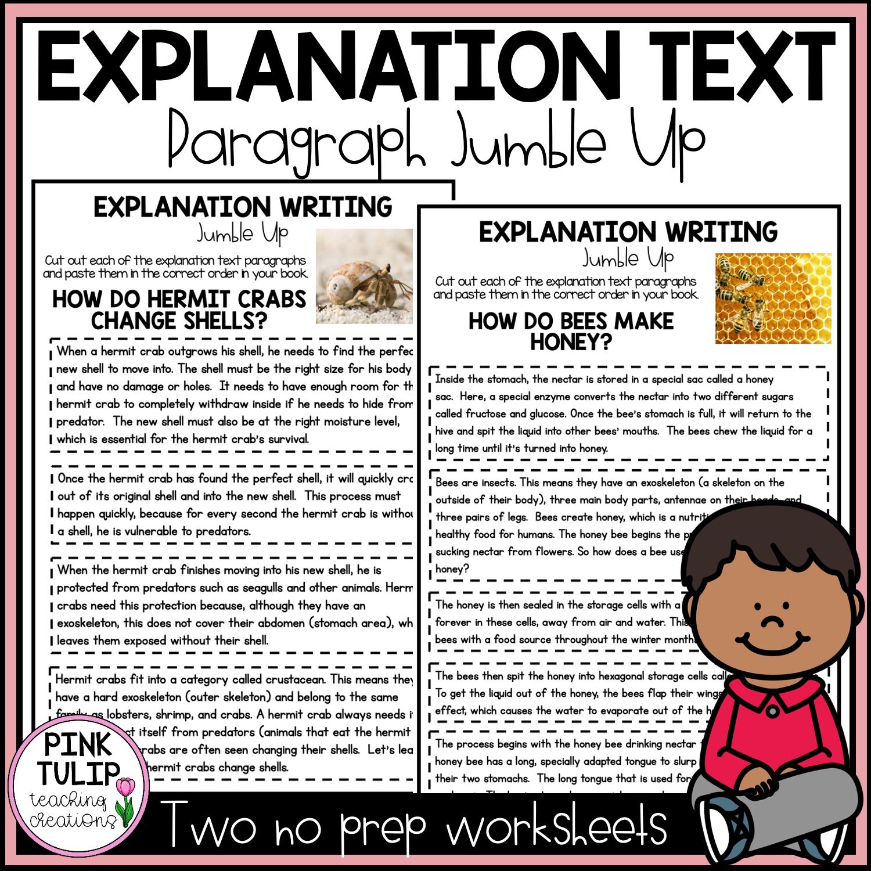 Explanation Writing Paragraph Jumble Up Explanation Writing Paragraph Writing Explanation Text [ 1500 x 1500 Pixel ]