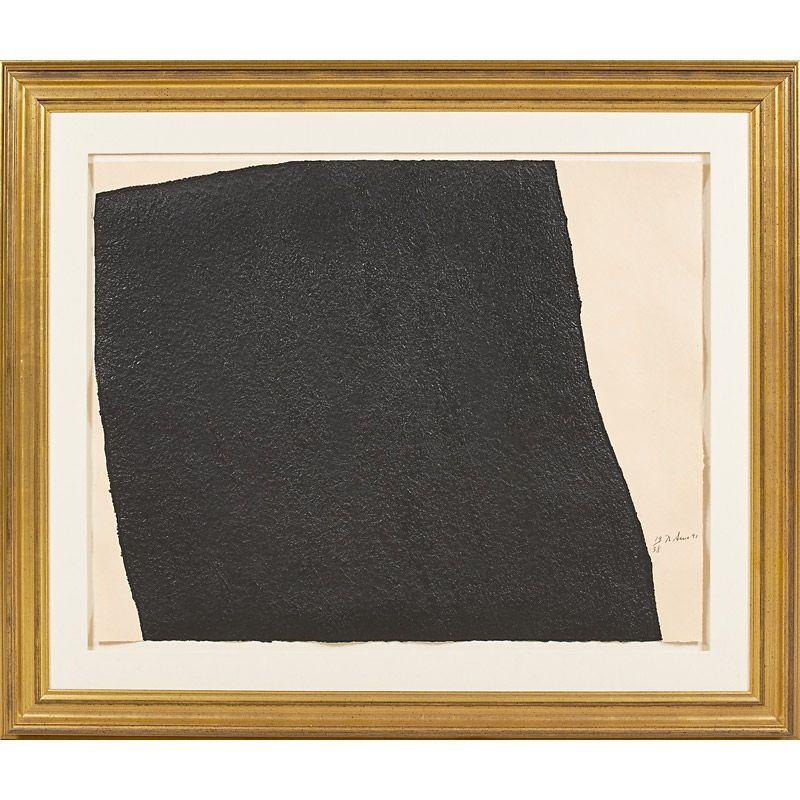Richard Serra (American, b 1938) Estimate $8,000 - $12,000