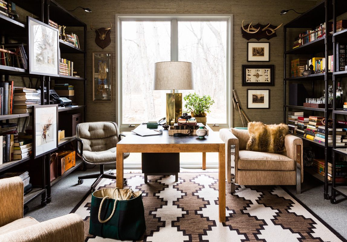 Carrier And Company Portfolio Interiors Contemporary Eclectic Modern  Transitional Home Office.
