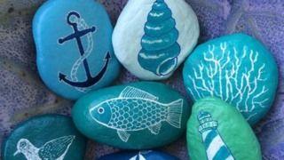 Nautical Gift Ideas Garden Painted Rocks Diy Rock Painting Art Rock Painting Designs