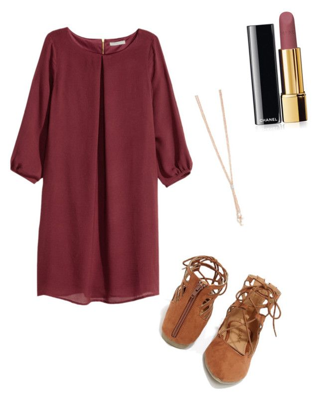 """Untitled #19"" by kcandkc on Polyvore featuring H&M, Liliana and Chanel"