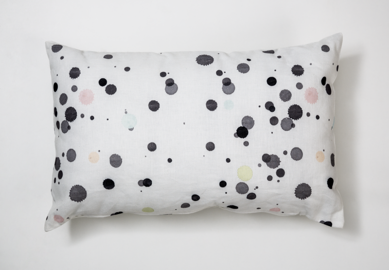 BY MAY confetti pillow
