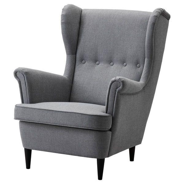 Lounge sessel ikea  IKEA STRANDMON Ørelappstol | Ny leilighet 2017 | Pinterest