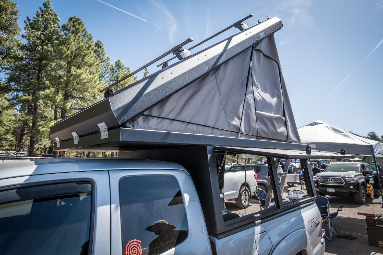 The Lightweight Pop Top Truck Camper Revolution Truck
