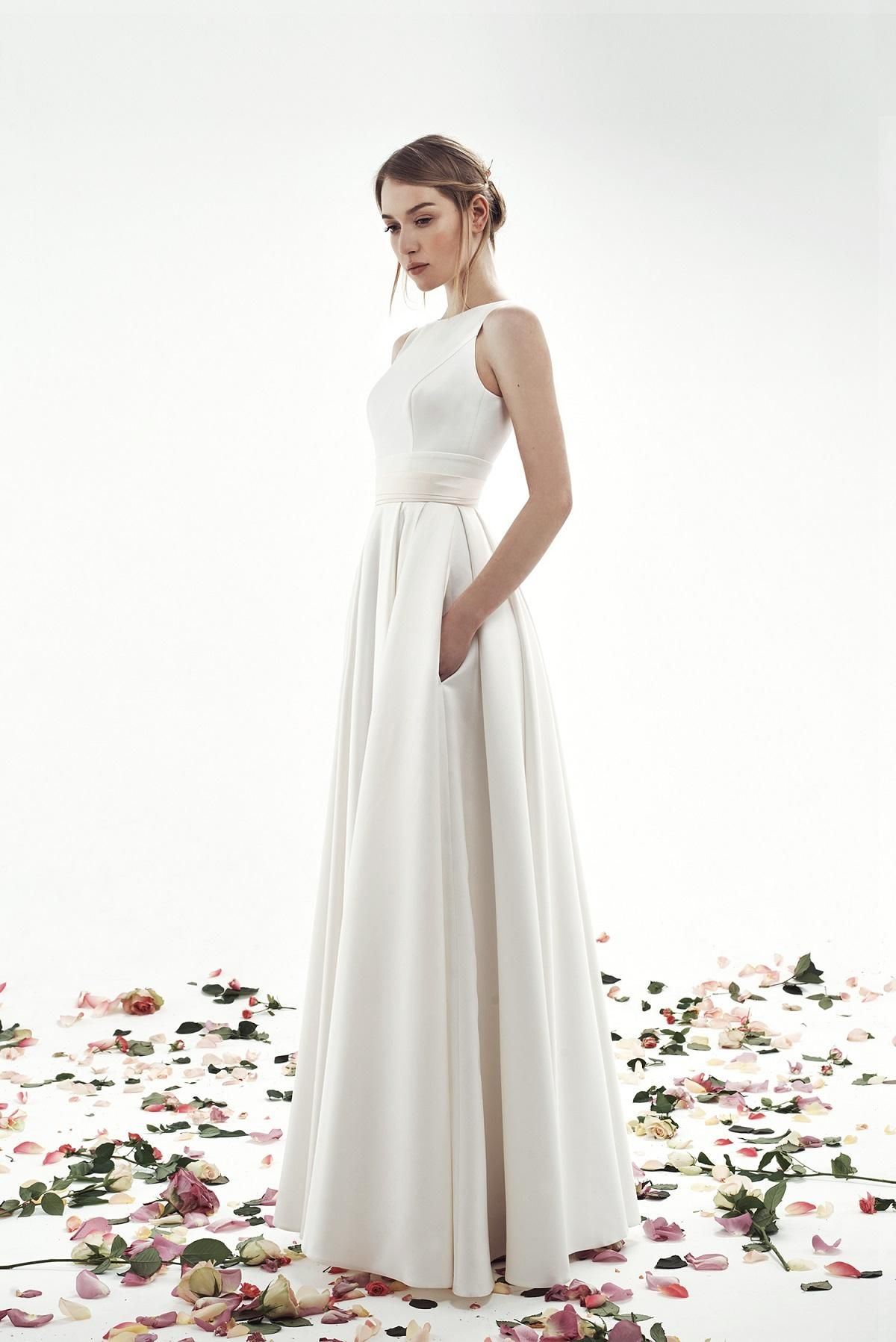 Свадебное платье Голди | Свадебные платья, Платья, Платья ...
