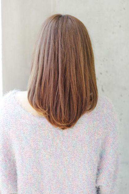 気分を変える カット パーマで内巻きヘア Afloat Ruvuaのヘアスタイル ヘアスタイリング ロブヘア 美髪