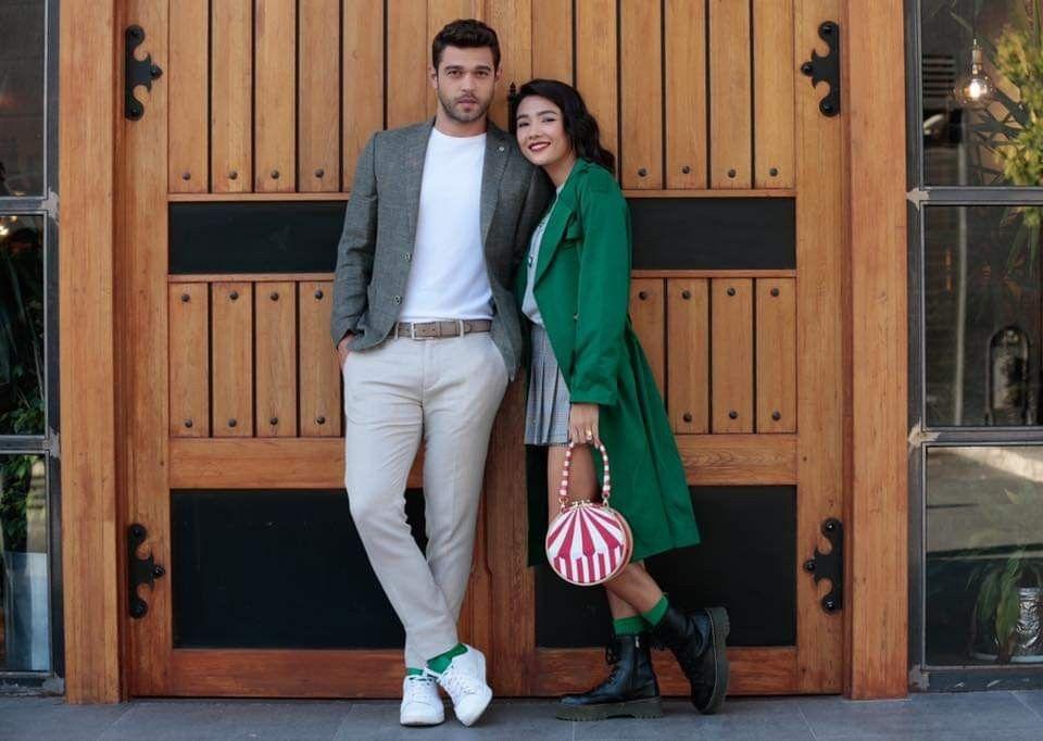Pin By Brenda Mashford On Furkan Meryem Her Yerde Sen Kati Cati Ask Outfits Style Turkish Actors