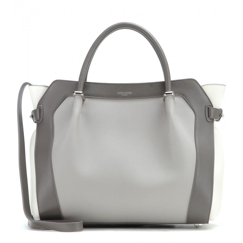 9a8277f22d Nina Ricci - Marché Small leather tote - Those clever folk at Nina Ricci  consistently design