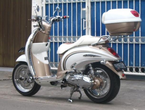 Modifikasi Vespa Matic - Modifikasi Motor