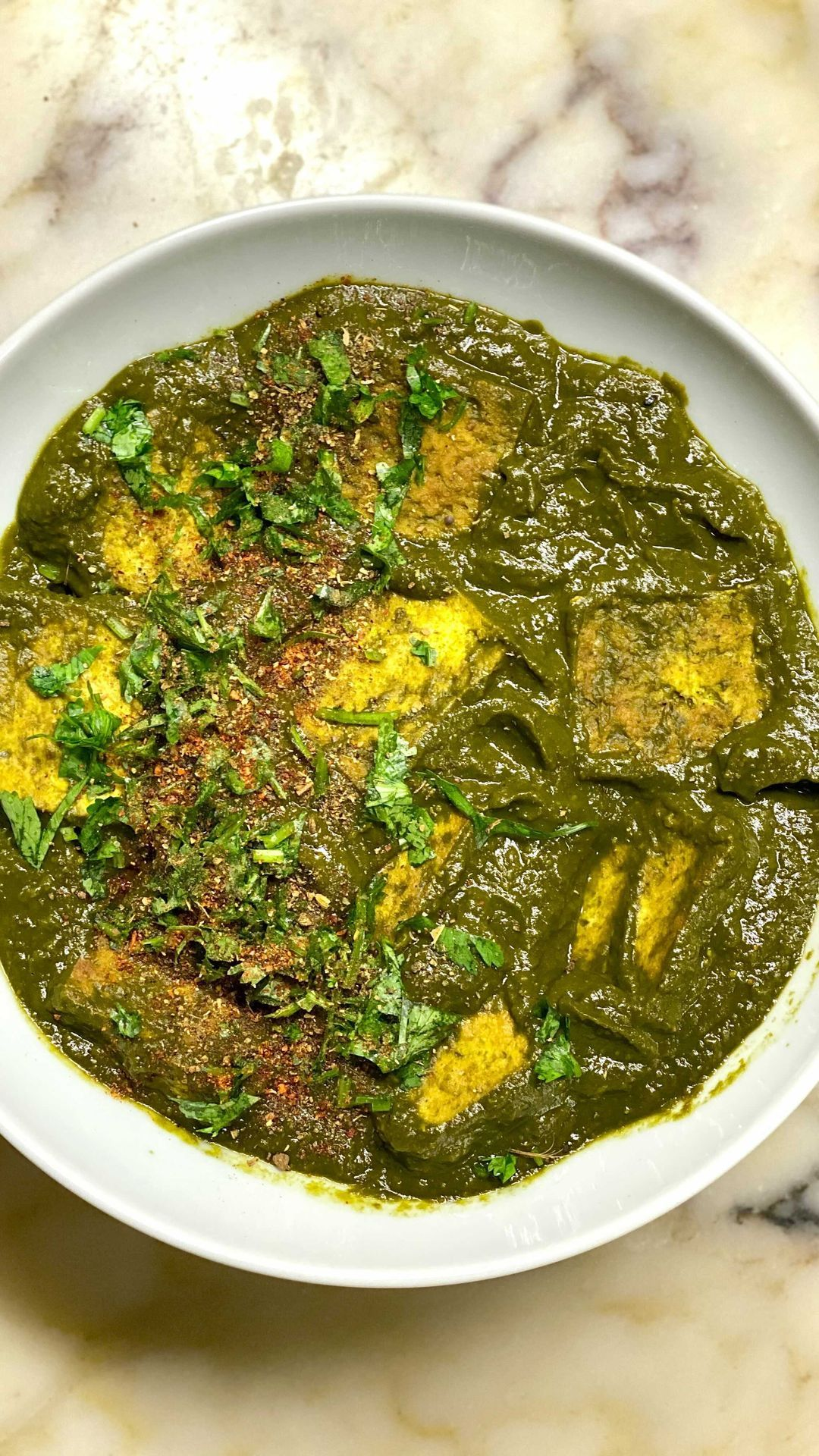 Chiefspicemama On Instagram Saag Paneer Minus The Paneer You Honestly Won T Even Miss The Dairy Plus This Dish Is Saag Paneer Vegeterian Recipes Saag