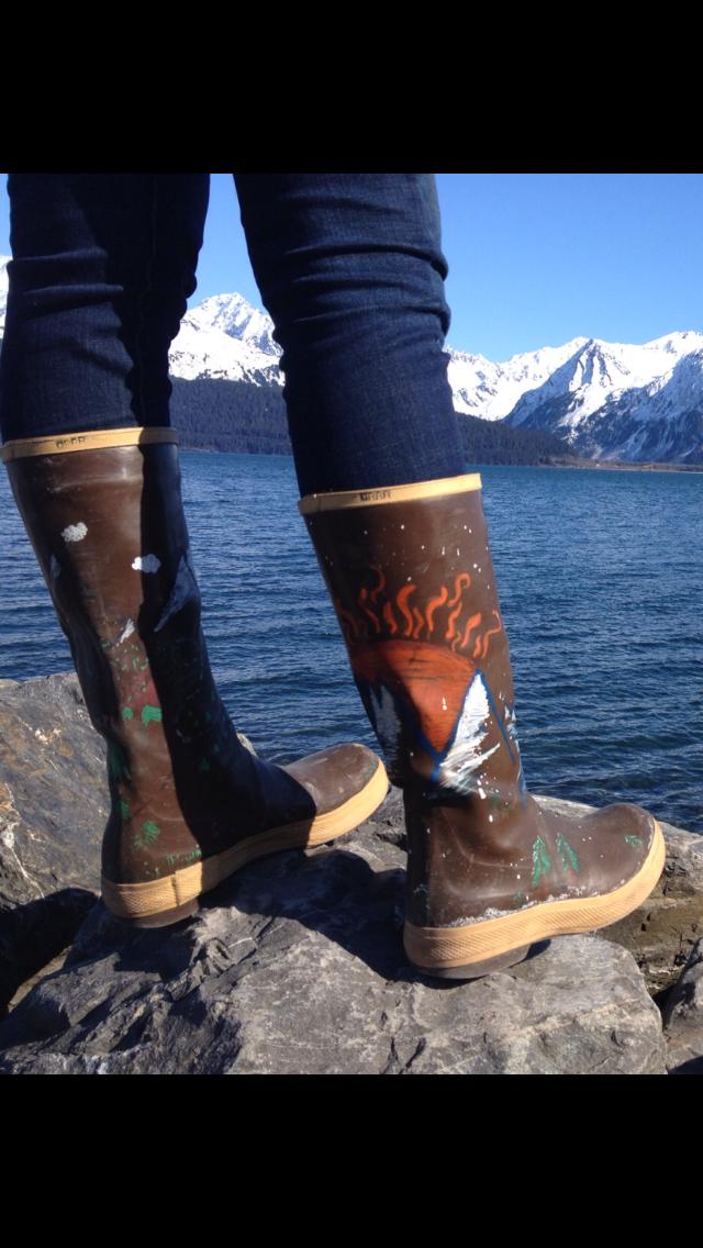 2b4fb023 #XTRATUF Cowgirl Boots, Rain Boots, Alaska, Armoire, Footlocker, Closet,
