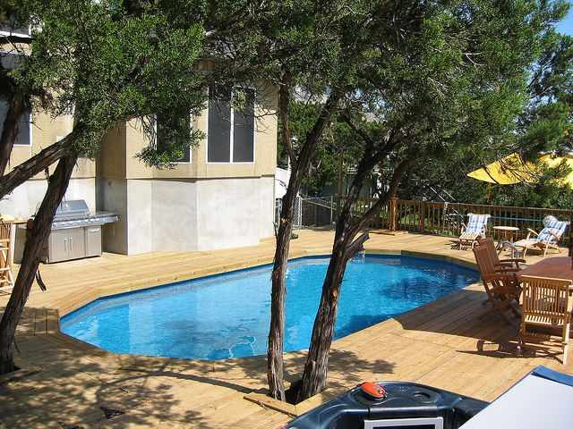 15x 30 ft oval above ground pool - near seaworld | ground pools