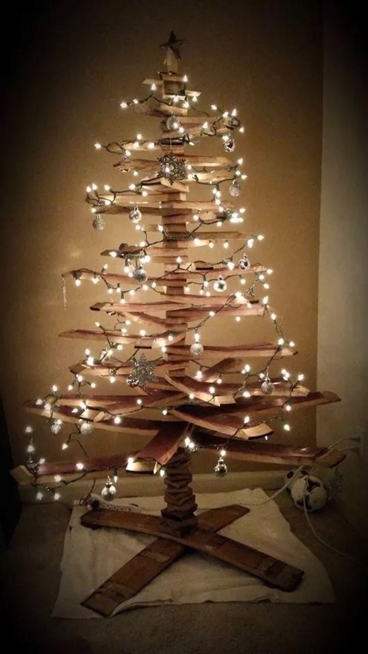 Wine Barrel Christmas Tree Like This Trunk Barrel