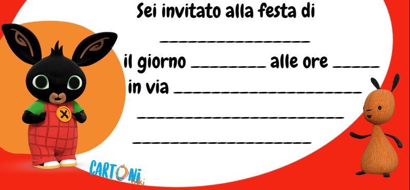 Cartoni Animati Stampa Gratis Questo Invito Per La Festa
