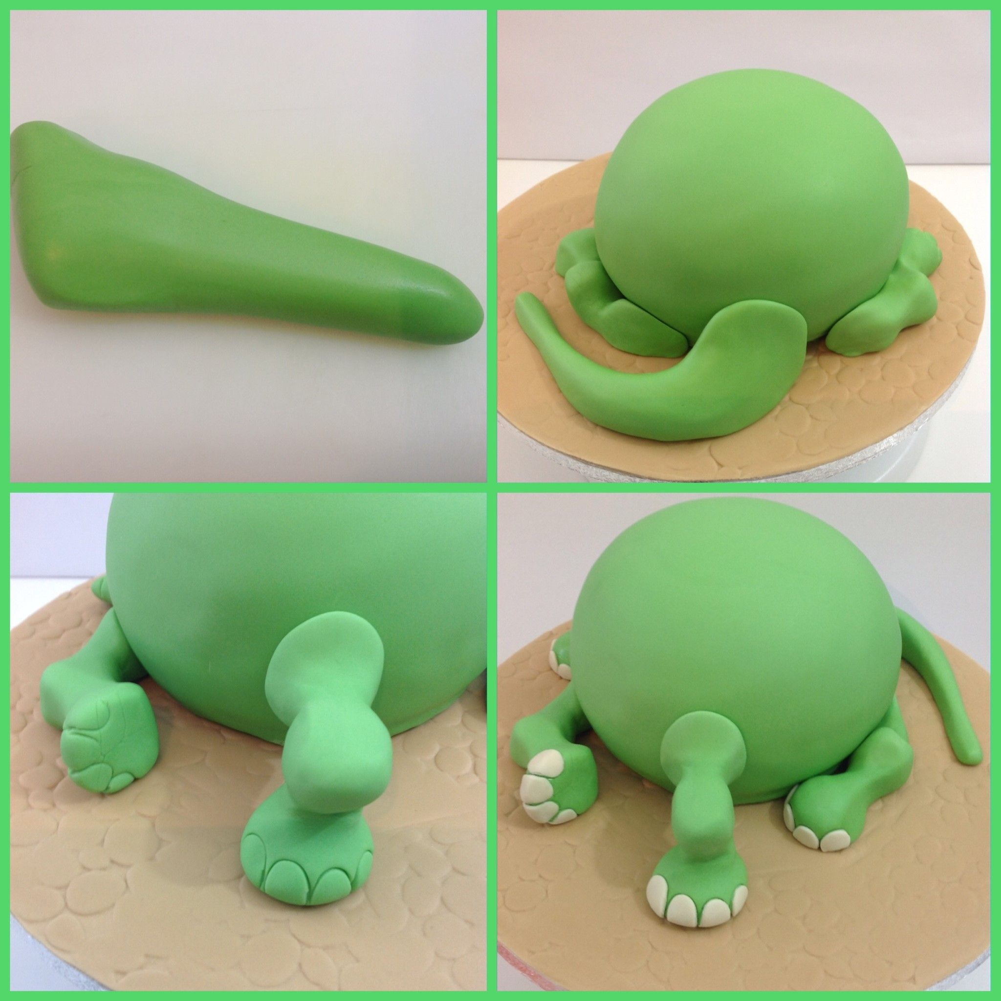 How To Make An Arlo The Good Dinosaur Birthday Cake Dinosaur