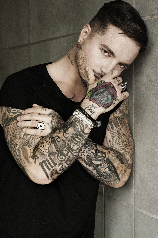 Pin By Inka Love On J Balvin Tattoos For Guys Music Tattoo Tattoos