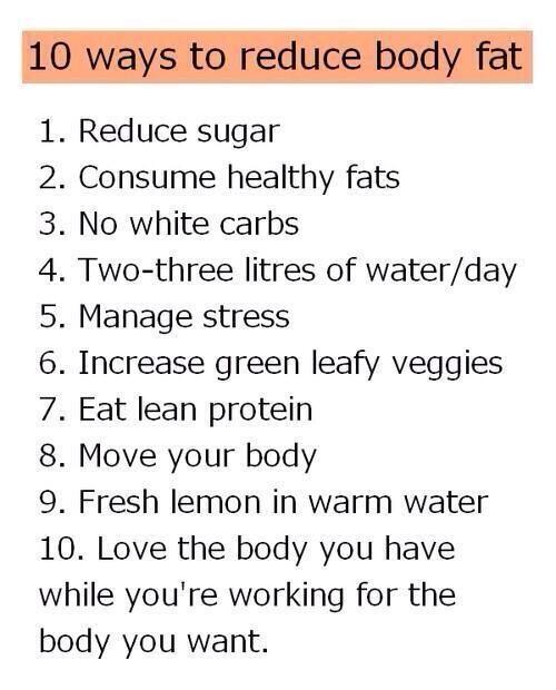 Lose fat not muscle mass