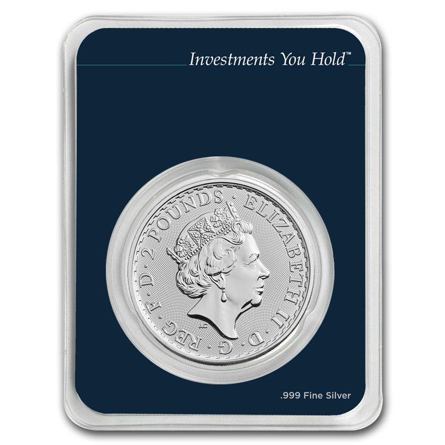2018 Great Britain 1 Oz Silver Britannia Mintdirect Single Silver Britannia Great Britain