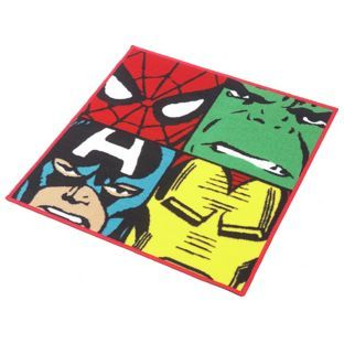 Buy Marvel Comics Rug