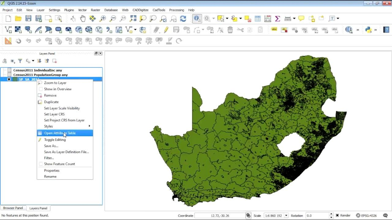 QGIS joining census 2011 xlsx tables