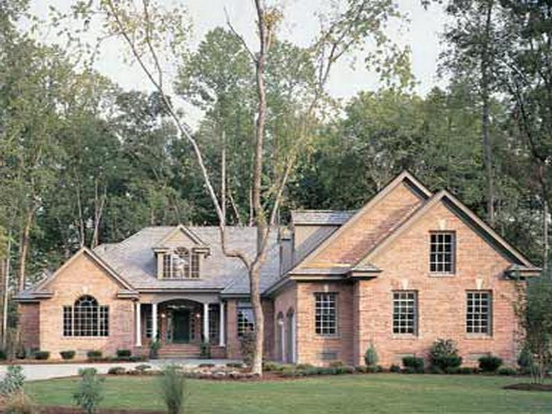 The New American Style Homes Exterior Design Style Types Brick Wall