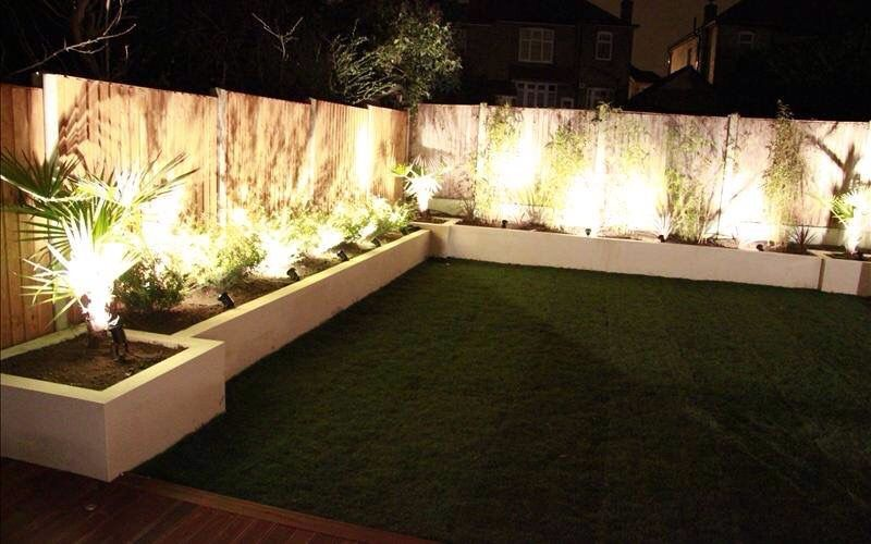 Jardineras con iluminaci n the house of my dreams for Iluminacion jardines pequenos
