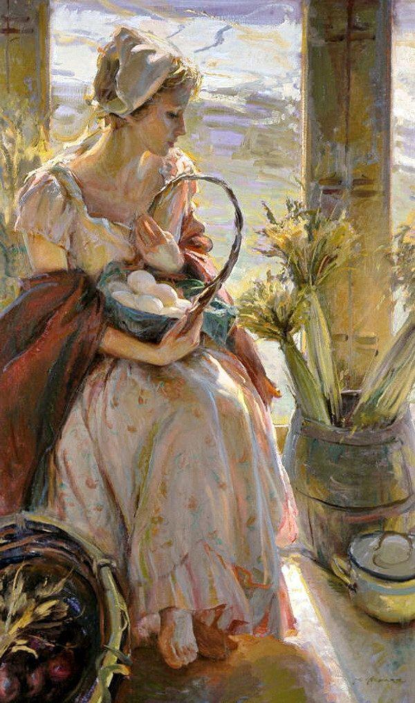 Épinglé sur Art Women Painters