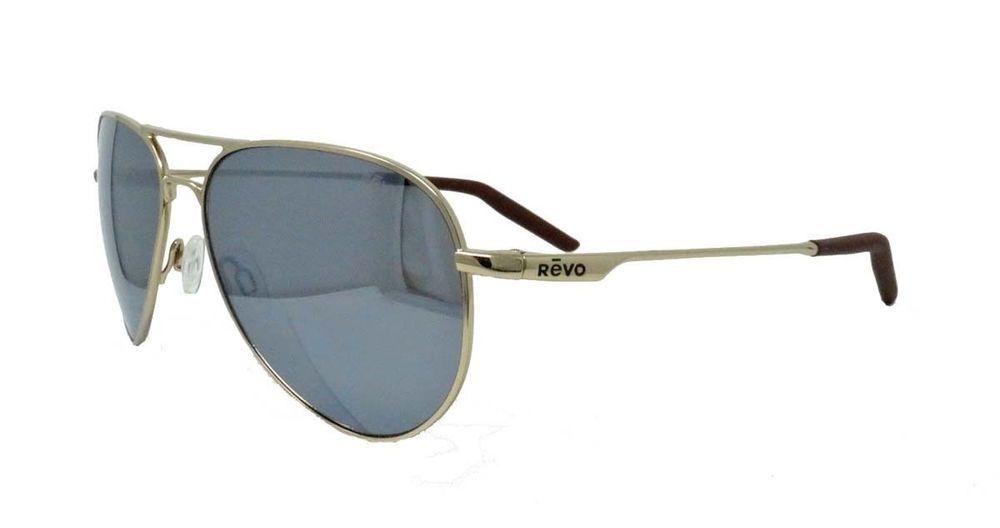 01b62c107f REVO OBSERVER Sunglasses RE1033 04 GGY Gold  Graphite Polarized Aviator -  NEW - (eBay Link)