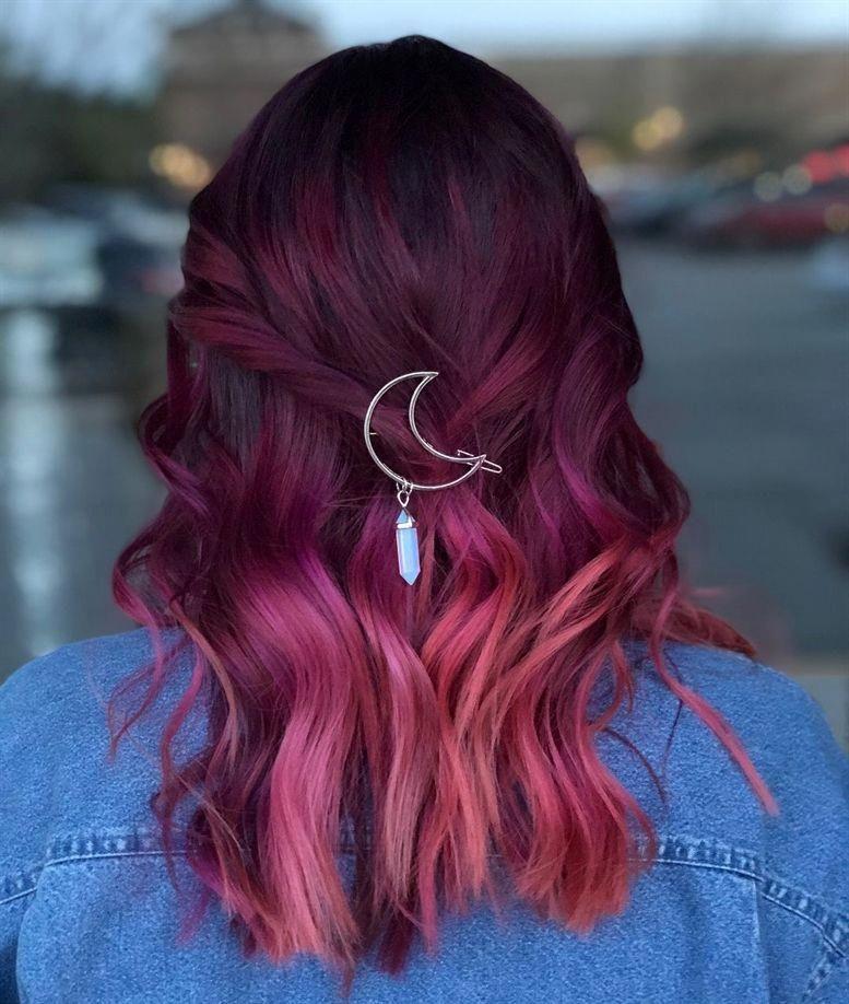 Hair Color maroon hair color