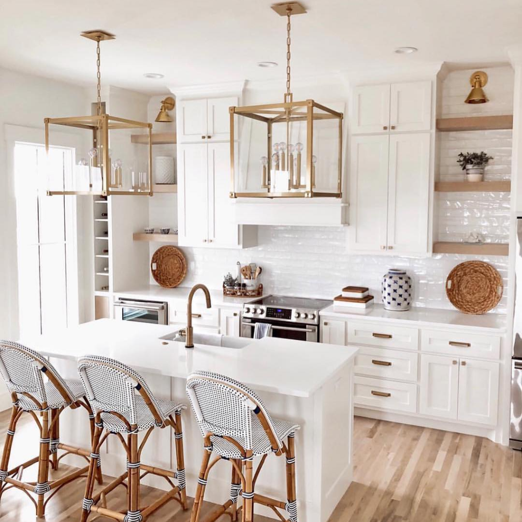 Best Kitchen Cabinets Buying Guide [ Tips & Tricks for 2020 ] - Lake house kitchen, White coastal kitchen, Home decor kitchen, Buy kitchen cabinets, Home, Kitchen design - Best Kitchen Cabinets Buying Guide 2020 helps you find the most quality options at low price for your NY kitchen  Visit our showroom today!