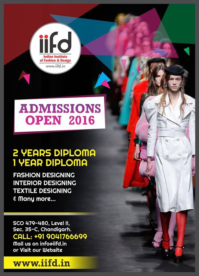 Admission Open In Fashion Designing Institute Indian Institute Of Fashion Design Iif Fashion Designing Institute Fashion Design Fashion Designing Course