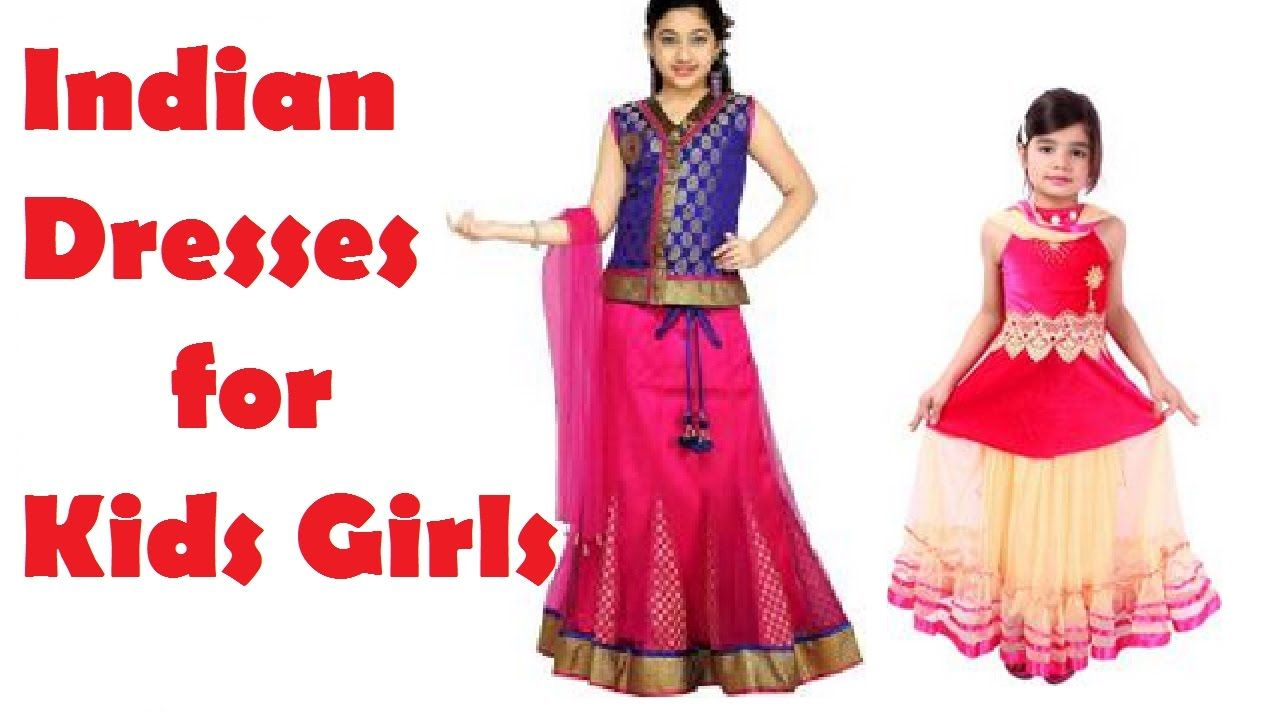 Kids Dress Designs For Girls Indian Ethnic Wear In Flipkart And Amazon I