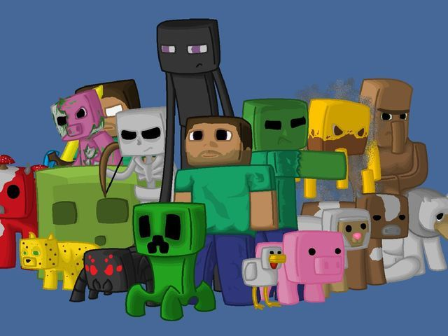 Which Minecraft Animal Are You Minecraft Wallpaper