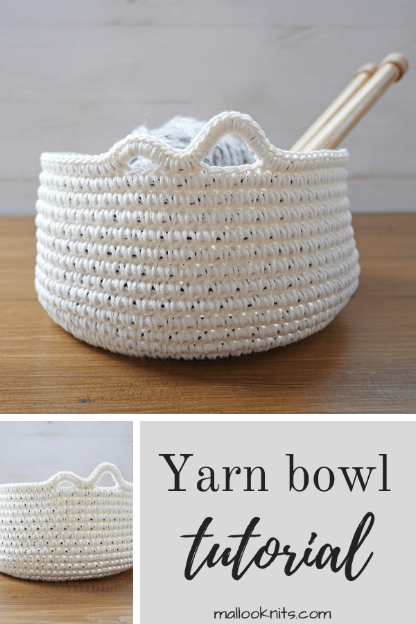 Photo of How to make a diy yarn bowl – crochet pattern and tutorial