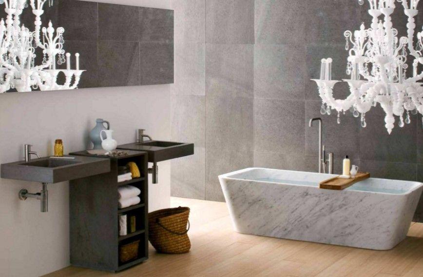 Kleines Badezimmer Gestaltungsempfehlungen Luxus-Dusche ...
