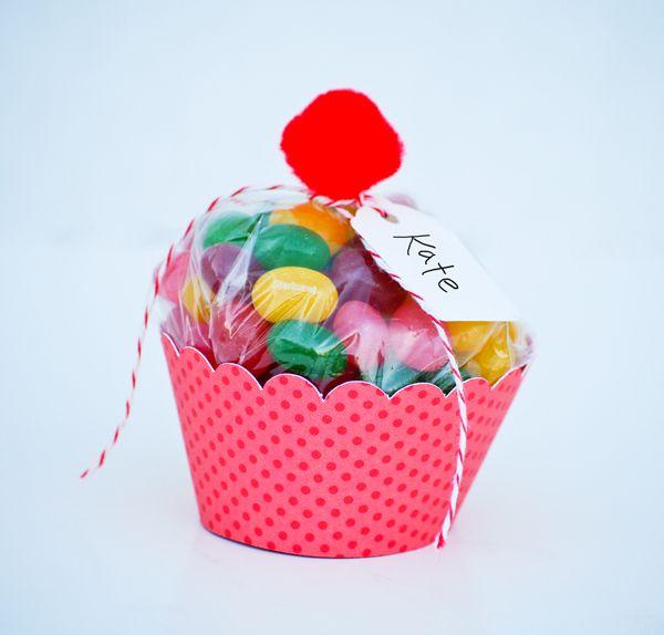 Cupcake Goody Bags