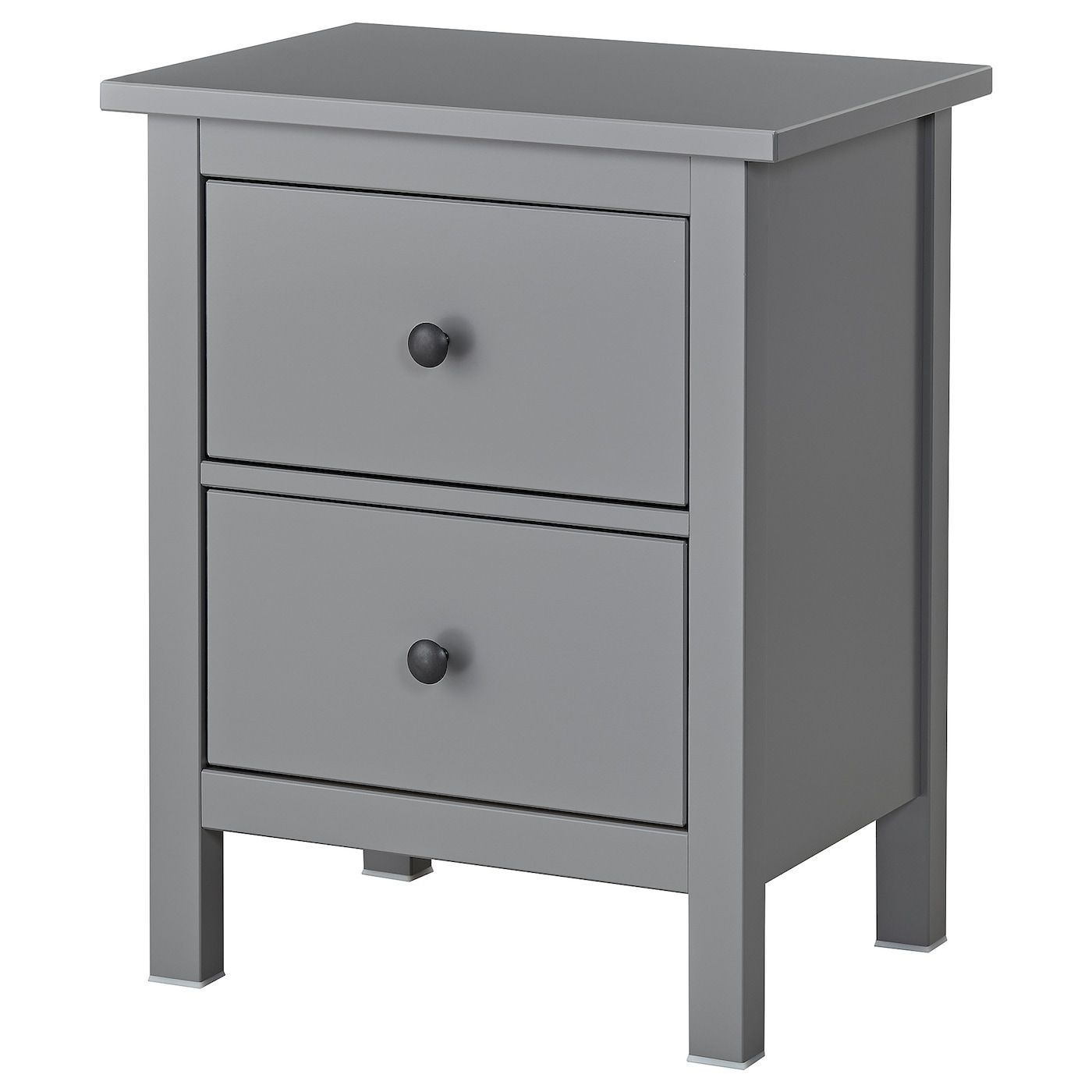 Hemnes Grey Chest Of 2 Drawers 54x66 Cm Ikea In 2020 Graue Schlafzimmermobel Hemnes Schubladen