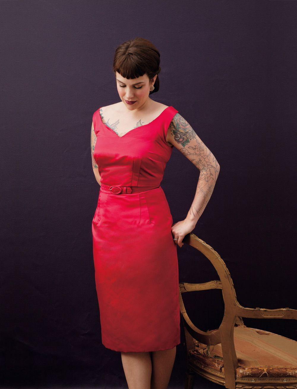 Gertie\'s New Book for Better Sewing: the sultry sheath | m a k e ...