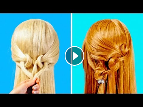 17 Easy And Cool School Hairstyles 5 Minute Crafts 5 Minute