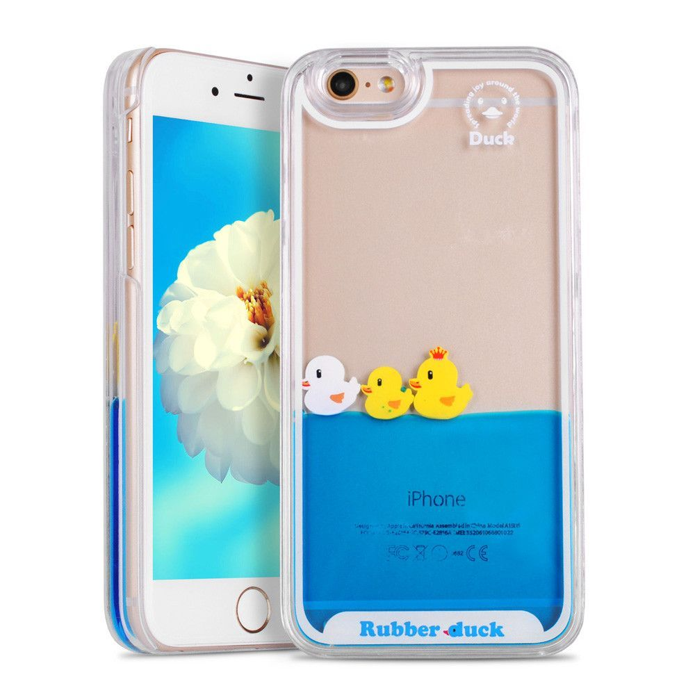 Accessories For Apple Iphone 5c Stylish 3d Rain Drop Hard Case Cover - For iphone 5s case 3d flowing liquid swimming duck transparent hard case for iphone 5 se 6 6s 6 plus 6s plus 7 plus phone cover