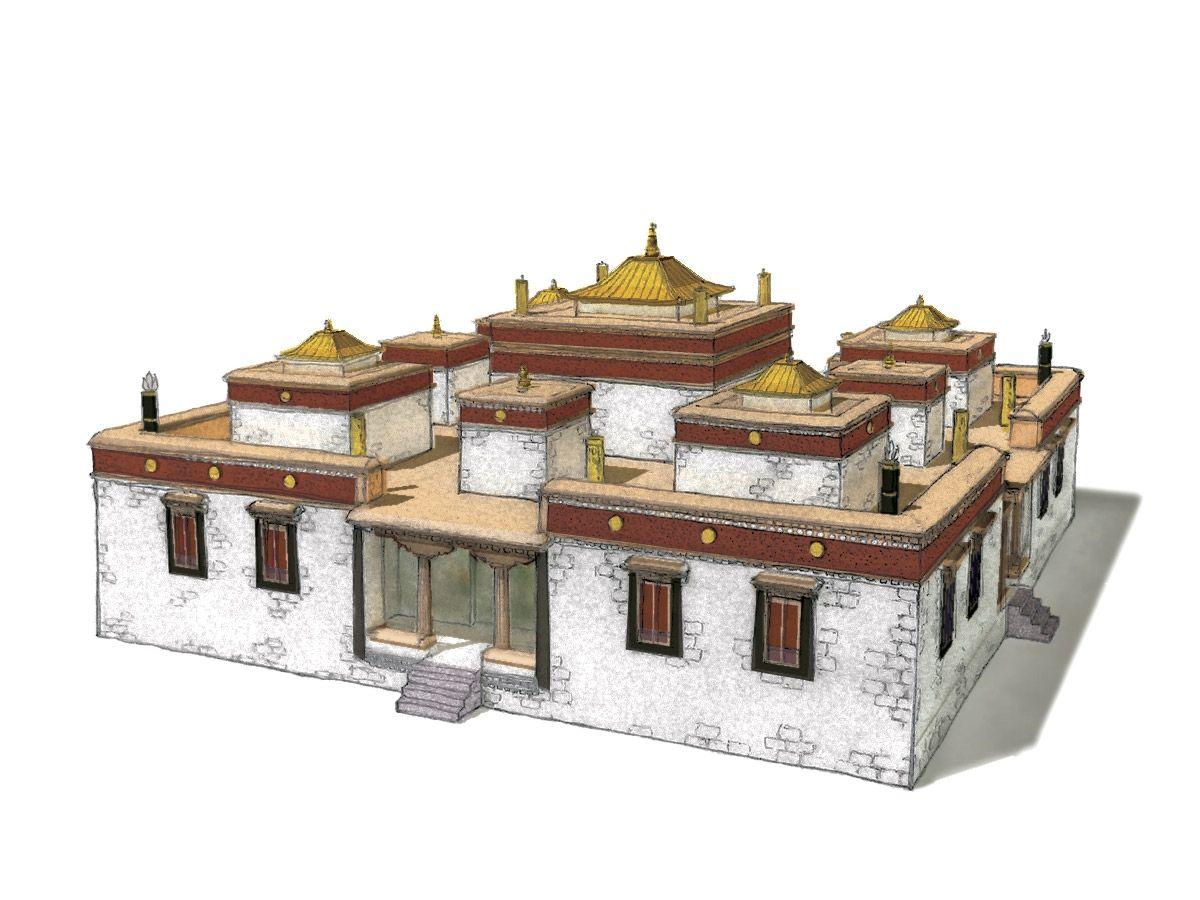Traditional Tibetan Architecture