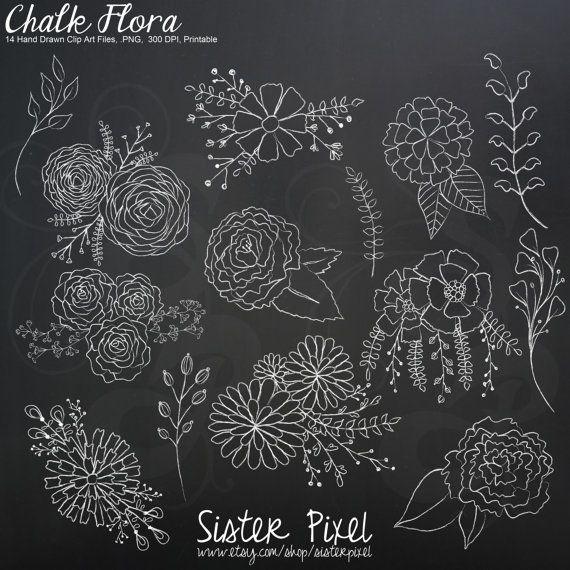 Pin By Juliette Dega On Scrapbooking Flower Drawing Art Chalk Lettering